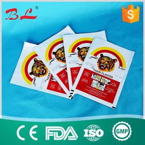 Hot Sale Capsicum Tiger Plaster Medical Adhesive Plaster Pain Relief Plaster pictures & photos
