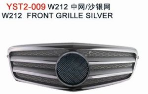 ABS Plastic Chrome Auto Parts, All Silver Chrome Front Grille for Mercedes W212 Series AMG/E63 09-11