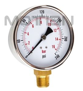 4 Inches Pressure Gauge with Glass Surface pictures & photos