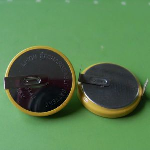 Hot Sale LIR2440 3.6V Button Cell Lithium Rechargeable Battery (LIR2440) pictures & photos