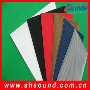High Quality Colorful 3D Carbon Fiber Sticker (SCF120) pictures & photos