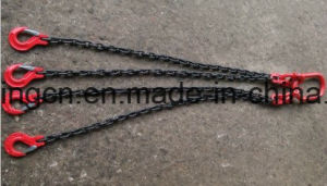 8mm 4 Leg Lifting Chain Sling with 2.3m 4.2 Ton Clevis Sing Hook pictures & photos