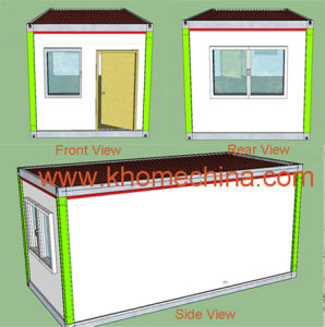 20FT ISO Standard Empty Office Container House pictures & photos