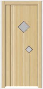 Best Price MDF Door with PVC Veneer Professional Supplier