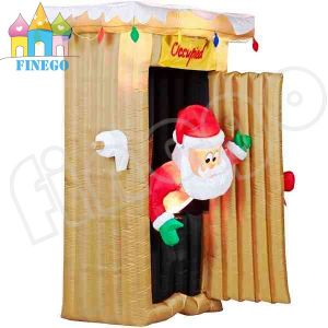 Inflatable Santa Claus House Toy Shop for Christmas Decoration pictures & photos
