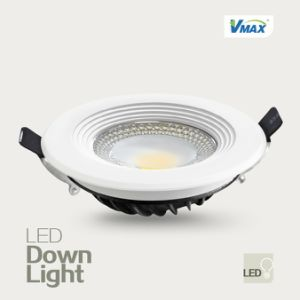 3000k/4000k/6500k AC220V-240V Ce&RoHS Indoor Lighting COB Recessed Downlight pictures & photos