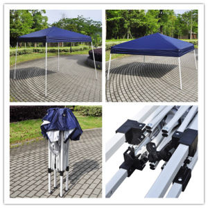 Hz-Zp108 2.4X2.4/3X3m (8X8/10X10FT) Folding Gazebo Good Canopy Hot Seel Tent. pictures & photos