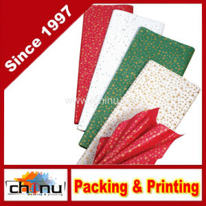 Gold Stars Christmas Tissue Paper (510045) pictures & photos