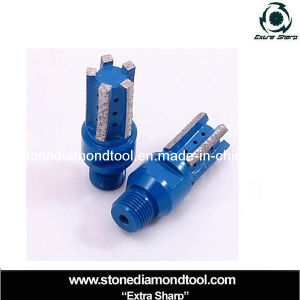 CNC Machine Diamond Segmented Drill Finger Core Bits pictures & photos