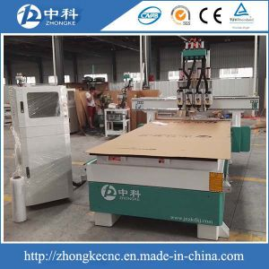 Four Heads Pneumatic Changing Cutters Simple Atc CNC Router pictures & photos