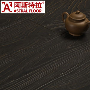 Registered Embossed (U-groove) / Laminate Flooring (AS8005) pictures & photos