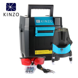 Continuous Operating 10 Hours Red Laser Level with Dots pictures & photos