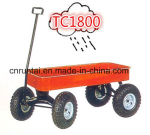 Large Capacious Heavy Duty Garden Trailer Tool Cart pictures & photos