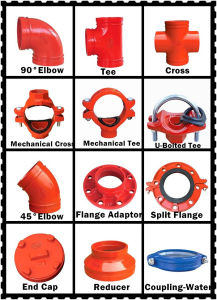 FM/ UL Ductile Iron Grooved Fittings- 1nuo Brand pictures & photos