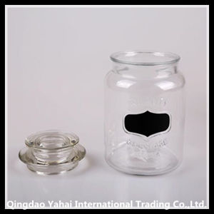 Set Faceted Jar / Glass Air Seal Jar pictures & photos
