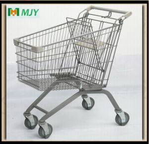 Wanzl Metal Shopping Cart 125liters Mjy-125b2-E pictures & photos