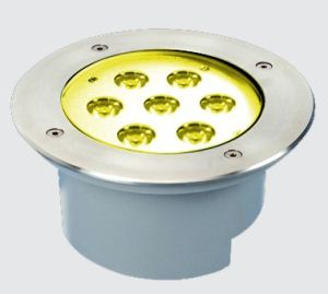 7*1W IP67 High Power LED Underground Light