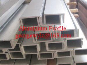 Mill Finish Aluminium Extrusion Profile Aluminum Profile for Window Door Industrial Building Material pictures & photos