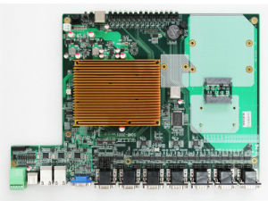 Rugged COM Express Module Carrier Board Features Expansion Slot
