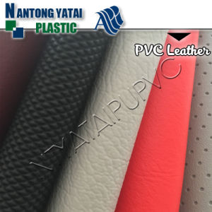 Classic Embossed Synthetic PVC Leather for Furniture and Car Seat