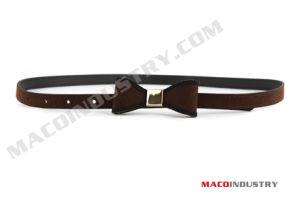 Fashion Skinny PU Belt (Maco339)