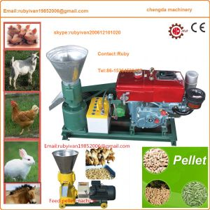 Sheep Poultry Feed Pelletizer Machine with Diesele Engine Driven pictures & photos