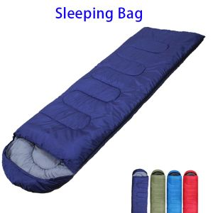 Outdoor Camping Envelope Inflatable Sleeping Bag