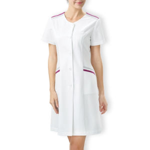 Custom White Lab Coat Nurse Uniform White Dress pictures & photos