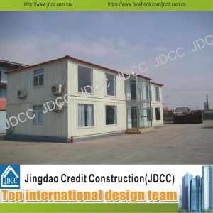 Two Storey Sandwich Panels Prefabricated House Office pictures & photos