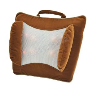 Electric Infrared Shiatsu Vibrating Massage Pillow pictures & photos