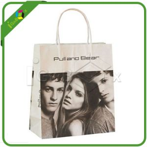 Fashion Printed Paper Shopping Bag with Handle for Packaging pictures & photos