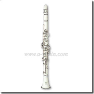 Bb Key White Color 17 Keys ABS Clarinet (CL3071-White) pictures & photos