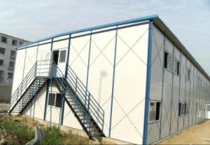 Steel Structure Prefab Movable Worker Temporary House (KXD-pH1446) pictures & photos