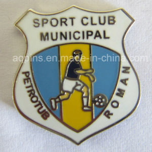Soft Cloisonne Lapel Pin for Football Reunion Badge (badge-048) pictures & photos