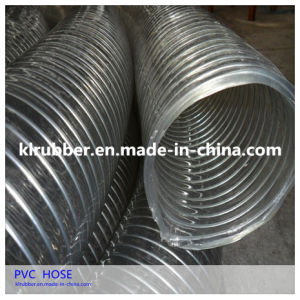 PVC Spiral Suction Water Pump Hose pictures & photos