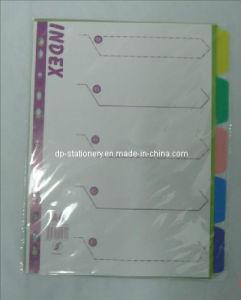 Index Tab Divider, Plastic File Folder(B3107) pictures & photos