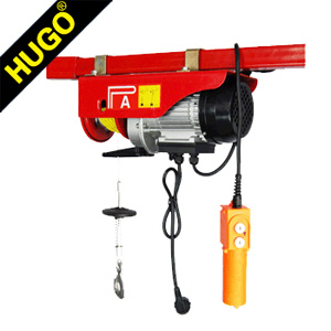 Wholesale 220V Mini Electric Hoist Winch with Wireless Remote Control 12V pictures & photos