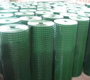 Low Carbon PVC Welded Wire Mesh Roll pictures & photos
