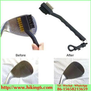 Golf Cleaning Brush, Two-Sided Golf Brush, Bristle Golf Brush pictures & photos