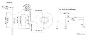 Aluminum Die-Cast 190*190*67mm Ec Cooling Fan pictures & photos