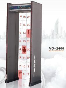 Multi-Zone Walk Through Metal Detector (VO-2400) pictures & photos