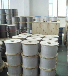 Stainless Steel Wire Rope for Rigging, Construction, Aircraft