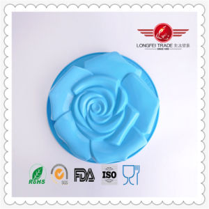 Large Rose Party / Birthday Silicone Cake Mould pictures & photos
