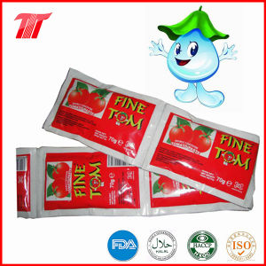 Healthy Organic 70g Sachet Tomato Paste of High Quality pictures & photos