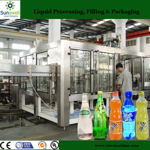 SUS304 Material of Aerated Water Filling Machine for Plastic Bottles pictures & photos