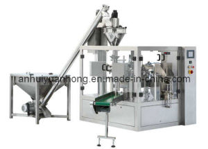 Mr6/8-200f Automatic Powder Rotary Packing Machine pictures & photos