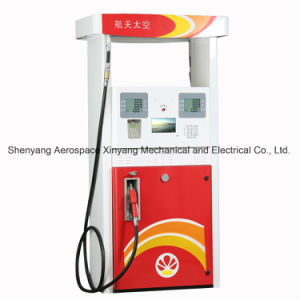 Fuel Dispenser Self-Priming with Two Nozzles-Four LCD Displays (with Multi-media) pictures & photos