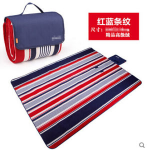 2016 Colorful Bar Microfiber Picnic Blanket pictures & photos