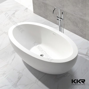 China Custom Made Small Size Solid Surface Freestanding