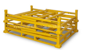Collapsible Warehouse Folding Metal Storage Stacked Cage pictures & photos
